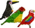 "20"" Standard Tropical Birds Pinata Assortment"
