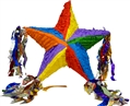 "20"" Deluxe 5-Point Multi Star Pinata"