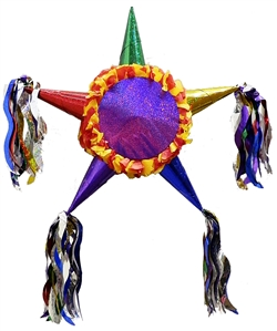 "24"" Fiesta Star Pinata - Primary Colors"