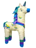 Large 3D White Unicorn Pinata