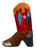 Large 3D Cowboy Boot Pinata