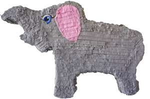 "Large 30"" Elephant Pinata"