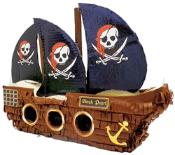 "Premium 20"" Pirate Ship Pinata"