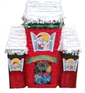 "Premium 20"" Santa's Workshop Pinata"