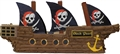 "Premium 30""  Pirate Ship Premium Pinata"