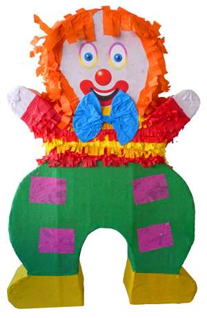 "30"" Large Clown Pinata"